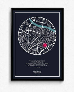 تابلوی نقشه- یک هدیه ی خاص